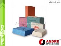Brusný segment lichoběžníkový - 100/85 mm x 35 mm x 150 mm, s keramickým pojivem, TYP 3109 - ANDRE (540252)