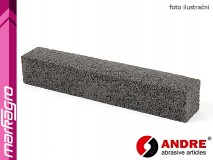 Brusný segment čtvercový - 25 mm x 150 mm, s pryskyřičným pojivem, TYP 9011 - ANDRE (140591)