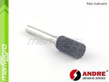 Brusné tělísko válcové - 10 mm x 25 mm x 6 mm, s keramickým pojivem, TYP 5210 - ANDRE (559670)