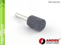 Brusné tělísko válcové - 16 mm x 25 mm x 6 mm, s keramickým pojivem, TYP 5210 - ANDRE (550416)