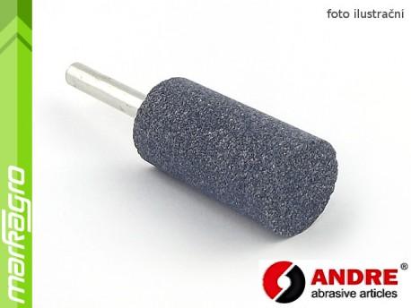 Brusné tělísko válcové - 20 mm x 40 mm x 6 mm, s keramickým pojivem, TYP 5210 - ANDRE (550148)