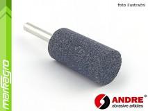 Brusné tělísko válcové - 20 mm x 40 mm x 6 mm, s keramickým pojivem, TYP 5210 - ANDRE (550155)