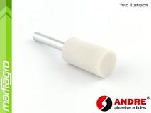 Brusné tělísko válcové - 25 mm x 40 mm x 6 mm, s keramickým pojivem, TYP 5210 - ANDRE (550227)