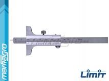 Hloubkoměr analogový 200 mm - LIMIT (6645-0205)