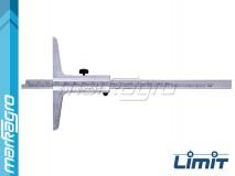 Hloubkoměr analogový 200 mm - LIMIT (2643-0207)