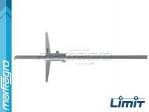 Hloubkoměr analogový s nosem 300 mm - LIMIT (2255-0107)