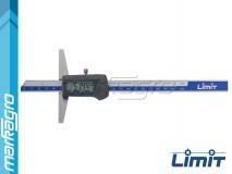 Hloubkoměr digitální 200 mm - LIMIT (2146-0605)