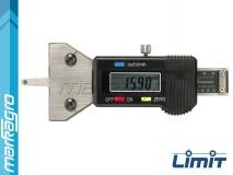 Hloubkoměr digitální pro měření výšky dezénu pneumatik 25 mm - LIMIT (13236-0108)