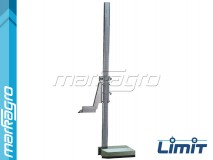 Výškoměr analogový 300 mm, základna 110 x 60 mm - LIMIT (2246-0056)