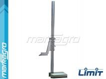 Výškoměr analogový 500 mm, základna 150 x 90 mm - LIMIT (2246-0106)