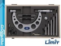 Mikrometr s výměnnými doteky pro měření vnějších průměrů 0 - 150 mm - LIMIT (9544-0103)