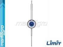 Číselníkový úchylkoměr nárazuvzdorný dlouhý 0 - 80 mm - LIMIT (11913-0201)