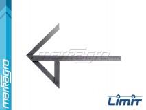 Úhelník dostředný 200 x 150 mm - LIMIT (2542-0209)