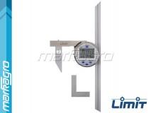 Úhloměr digitální 150 i 300 mm, rozsah 0 - 360°, 0 - 180° nebo 0 - 90°  - LIMIT (15127-0105)