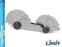 Měrky na závity metrické 60°, 24 šablon - LIMIT (2580-1101)