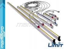 Lineární snímače polohy 1200 mm, dléka1350 mm - LIMIT (15139-1406)