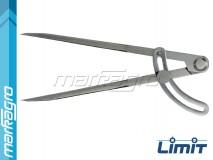 Hrotové kružítko se stavítkem 200 mm - LIMIT (2429-0405)