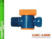 Ventil s vnějším závitem - LOC-LINE (39852.1)