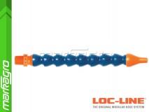 """Chladící hadice s kruhovou tryska Ø 1/4"""" (~6.40 mm) s vnějším závitem NPT 3/8"""", délka 400 mm - LOC-LINE (P14010)"""