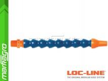 """Chladící hadice s kruhovou tryskou Ø 3/8"""" (~9,5 mm) s vnějším závitem NPT 3/8"""", délka 400 mm - LOC-LINE (P14020)"""
