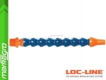 """Chladící hadice s kruhovou tryskou Ø 3/8"""" (~9,5 mm) s vnějším závitem NPT 1/2"""", délka 400 mm - LOC-LINE (P14120)"""