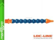 """Chladící hadice s kruhovou tryskou Ø 1/4"""" (~6.40 mm) s vnějším závitem NPT 1/2"""", délka 500 mm - LOC-LINE (P15110)"""