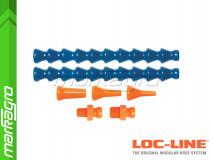 """Sada chladících hadic s výměnnými segmenty pro systém 1/4"""" - LOC-LINE (40413)"""