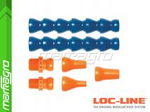 """Sada chladících hadic s výměnnými segmenty pro systém 1/2"""" - LOC-LINE (50813)"""